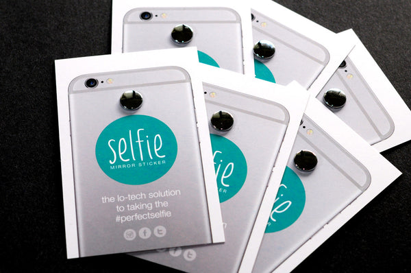 Selfie Mirror Sticker 6-pack