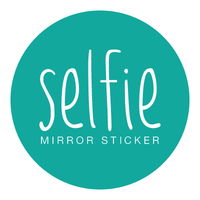 Selfie Mirror Sticker