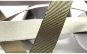 Double-Face Ribbon / Satin & Grosrain (SIC-171)