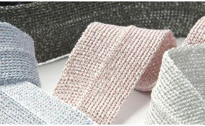 Metallic Knit Binder Tape (SIC-2308)