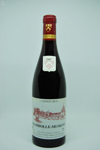 2007 Ch Genot Boulanger Chambolle Musigny