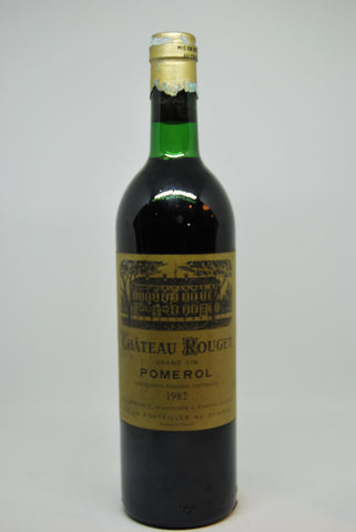 1982 Ch Rouget Pomerol