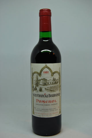 1989 Vieux Chateau Bourgneuf Pomerol