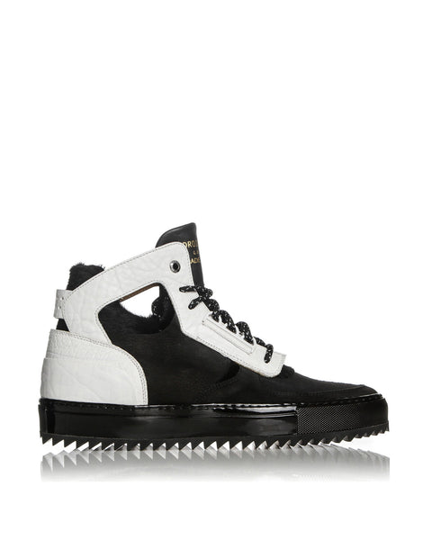 DELTA MID (BLACK/WHITE) - ANDROID HOMME LOS ANGELES