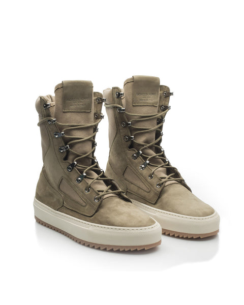 TACTICAL BOOT - OLIVE CANVAS