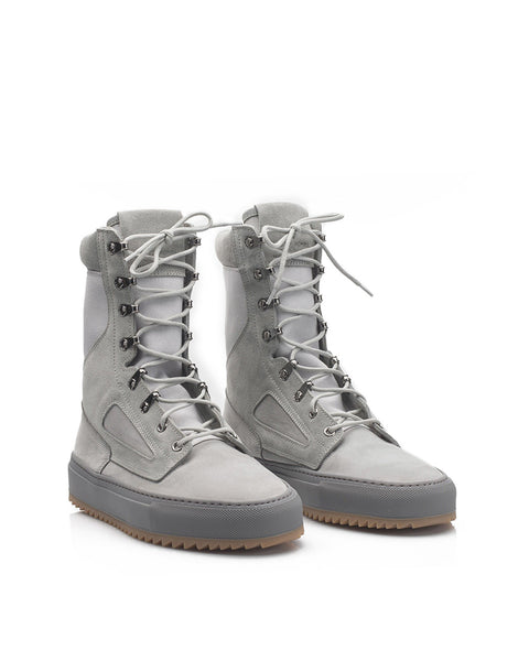 TACTICAL BOOT - GRAY NUBUCK