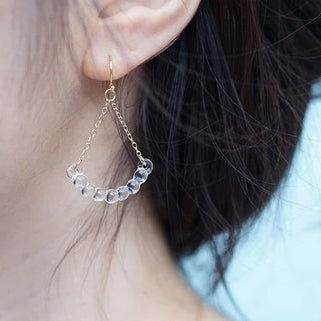 HARIO Handmade Jewelry- Water Drop Earring (HAW-R-002)