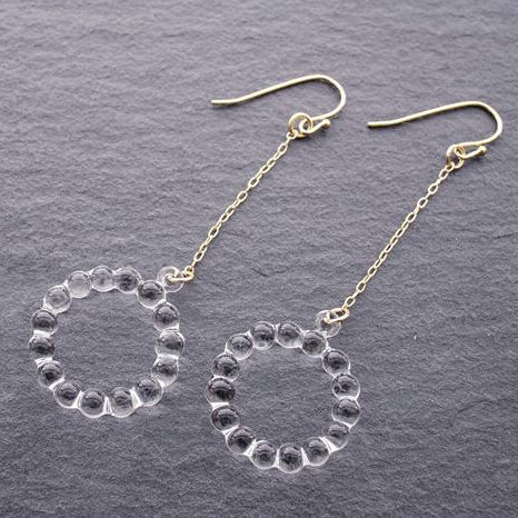 HARIO Handmade Jewelry- Water Drop Earring (HAW-C-001)