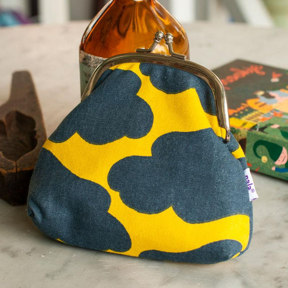 Nala Coin Purse - Mooncake yellow