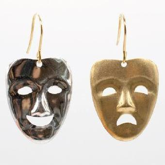 Aquvii Earring - 2 Face Earrings