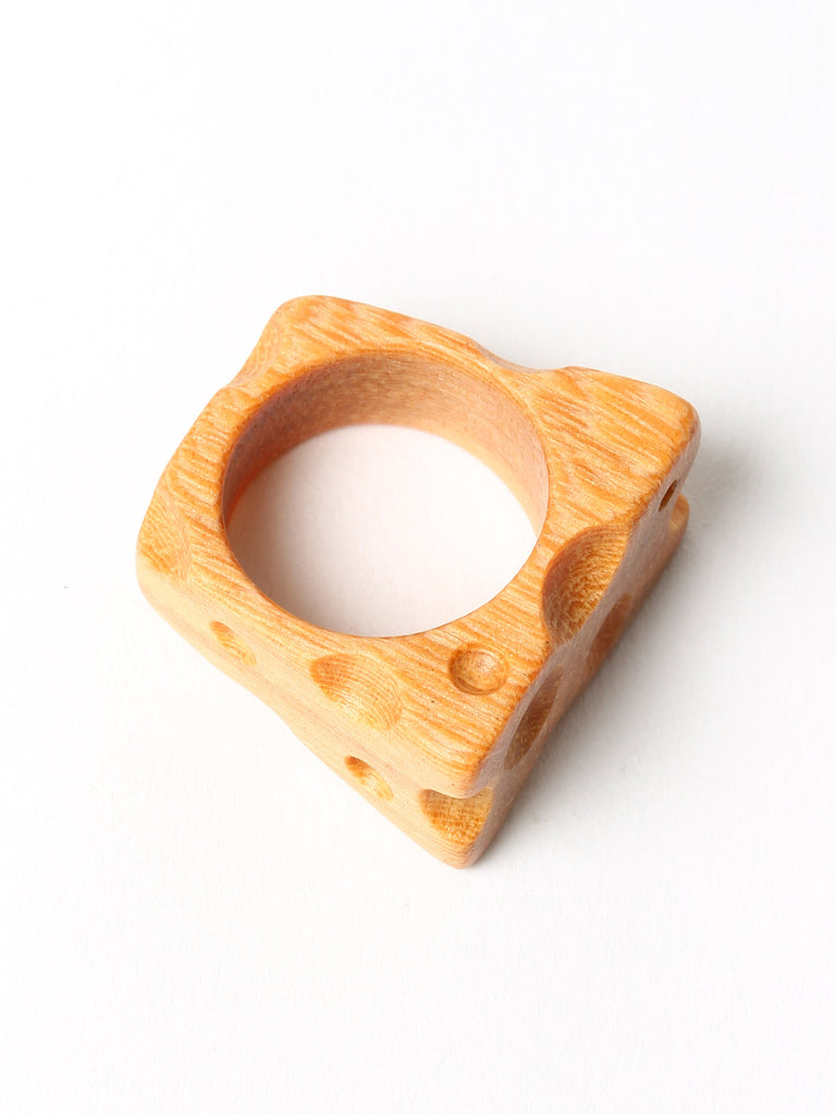Gleamwood Wooden Ring Cheese