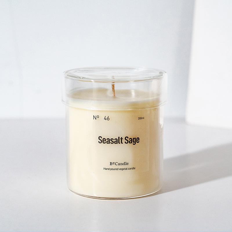 BeCandle Saikung Candle 200ml - Sea salt sage