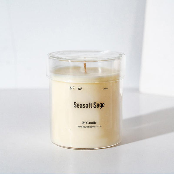 BeCandle Saikung Candle 200ml - Seasalt sage no.46