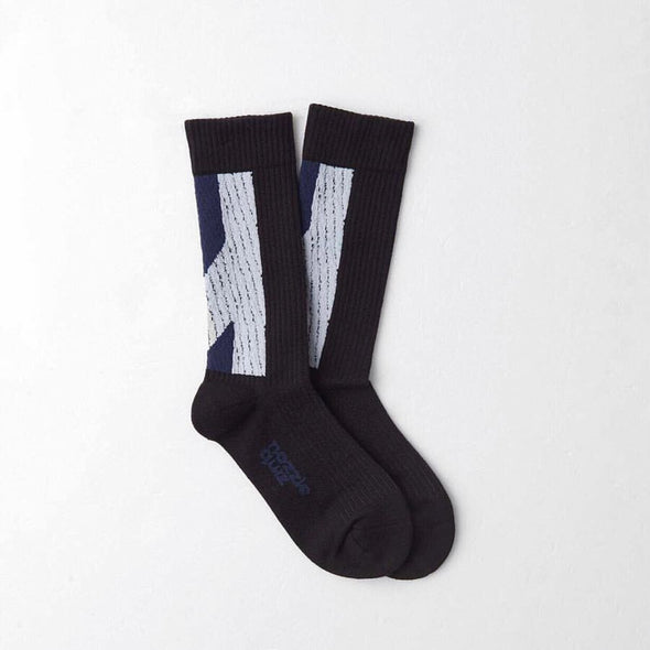 Nozzle Quiz Socks - Black & White