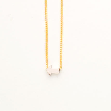 Aquvii Arrow sign necklace