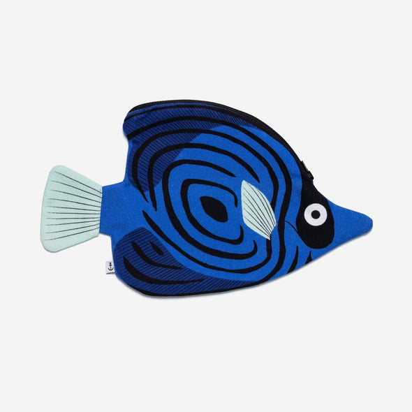 Don Fisher Butterfly Fish Pouch Blue
