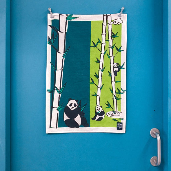 GLUE Tea Towel - Panda