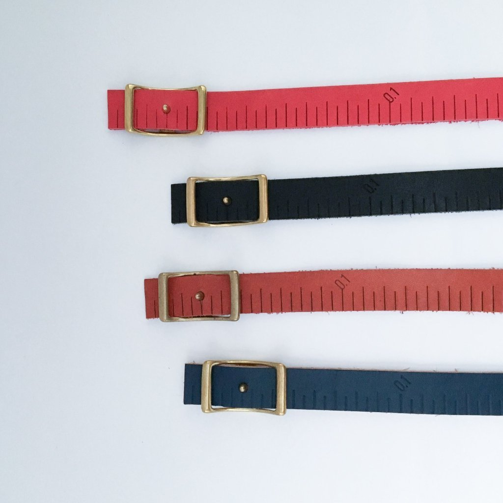 GLUE Leather Measurement tape Belt