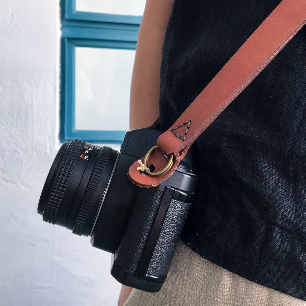Green Room Leather Camera strap