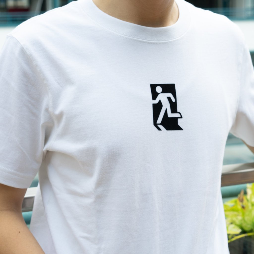 GLUE t-shirt with Exit logo