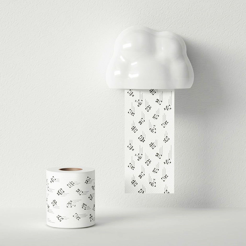 Studio Mango Cloudy Tissue Case (White)