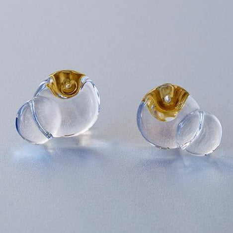 HARIO Handmade Jewelry- Water Surface Earrings (HAA-HA-001P)