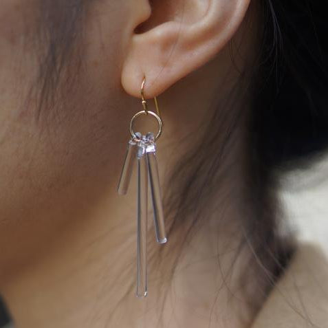 HARIO Handmade Jewelry - Abstract Earring (HAA-K-002)