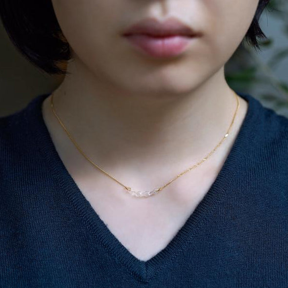 HARIO Handmade Jewelry - Abstract Necklace (HAA-KM-004N)
