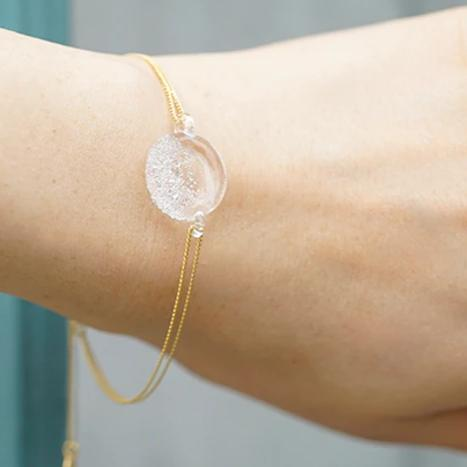 HARIO Handmade Jewelry -Frozen Water Bracelet (HAW-ML-004B) [Pre-order - receive in early February]