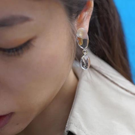 HARIO Handmade Jewelry - Abstract Earring (HAA-O-002E)