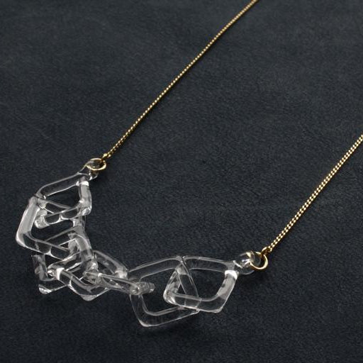 HARIO Handmade Jewelry - Abstract Necklace (HAA-SCH-001N)