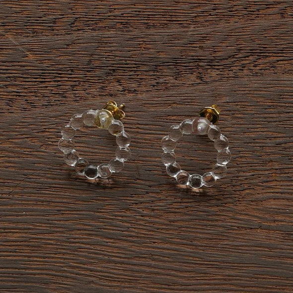 HARIO Handmade Jewelry - Water Drops Earrings (HAW-SC-002P)