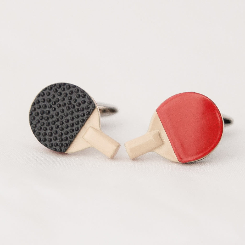 TABLETENNIS RACKET CUFFLINKS