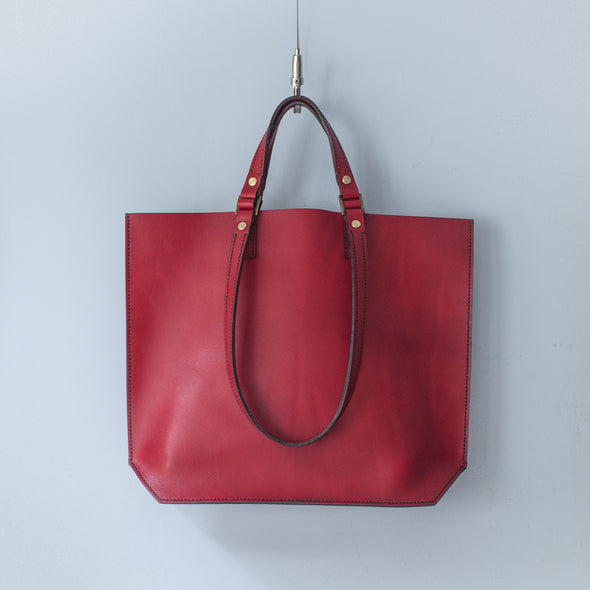 GreenRoom DU Leather Tote H-Type