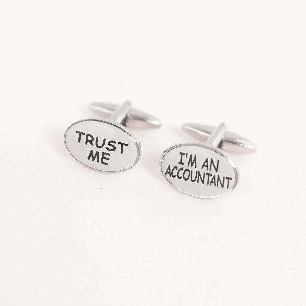 TRUST ME, I'M AN ACCOUNTANT ! CUFFLINKS
