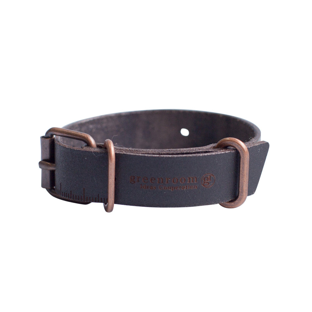GreenRoom The Ruler Leather Bracelet