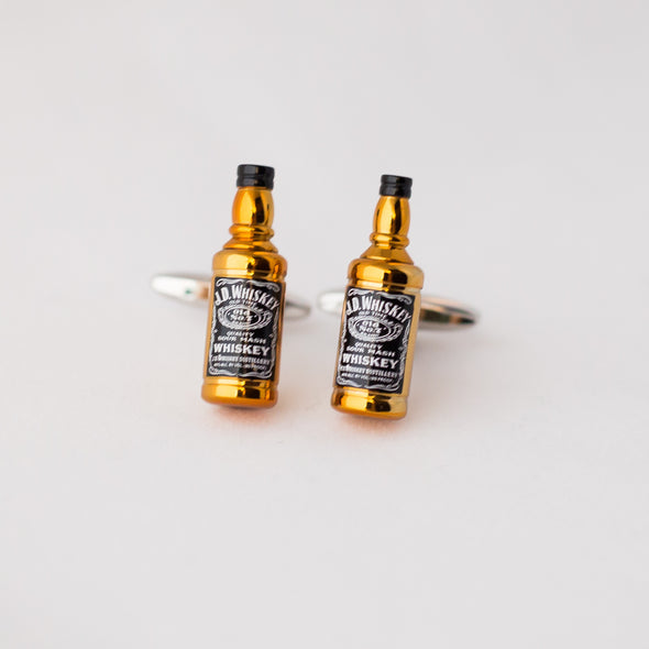 Designer cufflinks - Whiskey