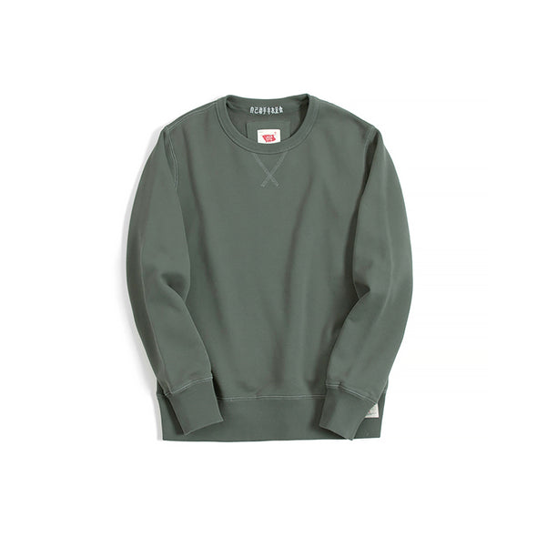 Vintage and Republic Classic Pullover - Grey Green