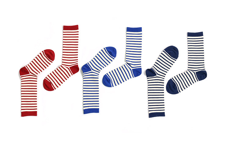 Vintage and republic Strips Socks