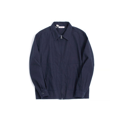 Vintage and republic 1950s Works Jacket - Navy