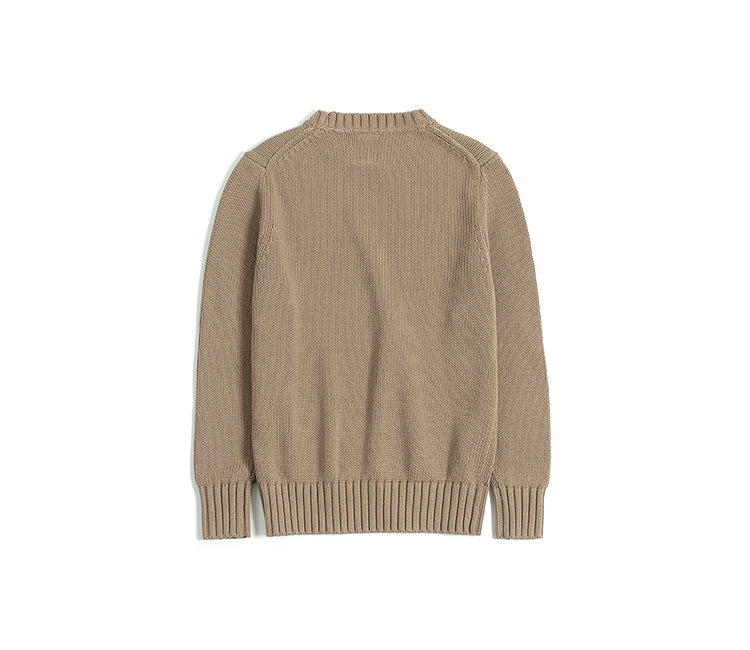 Vintage and Republic Classic Crew-neck sweater - Brown