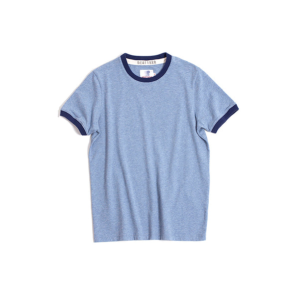 Vintage and Republic T-shirt - Plain T with highlighted Neck