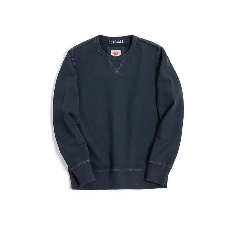 Vintage and Republic Classic Pullover - Navy Blue