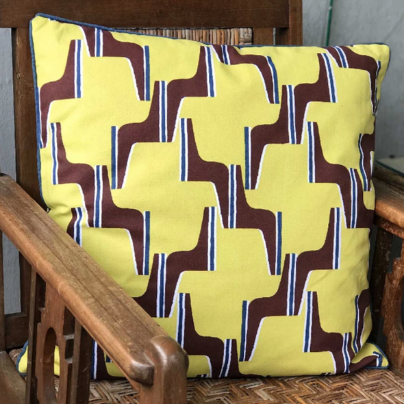 Nala Cushion Cover My Parlimen Yellow 50x50