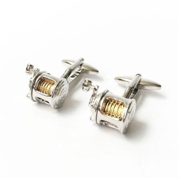 Fishing Reel Cufflink