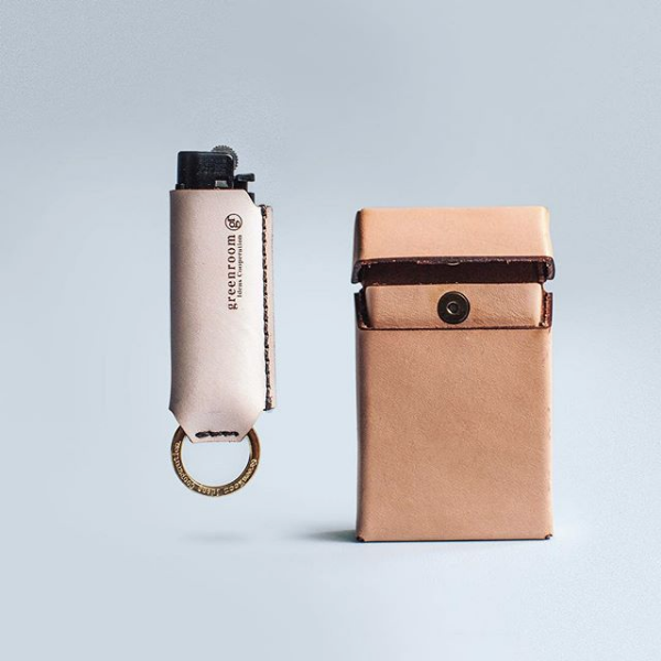 GreenRoom Lighter Case with Key Chain