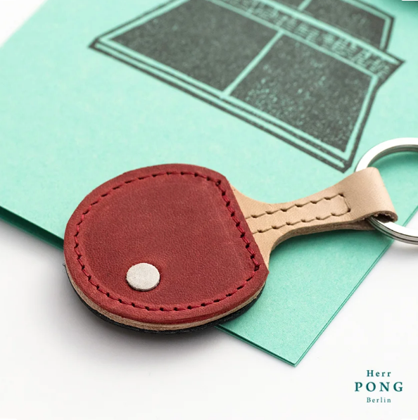 Herr Pong Ping Pong Keychain