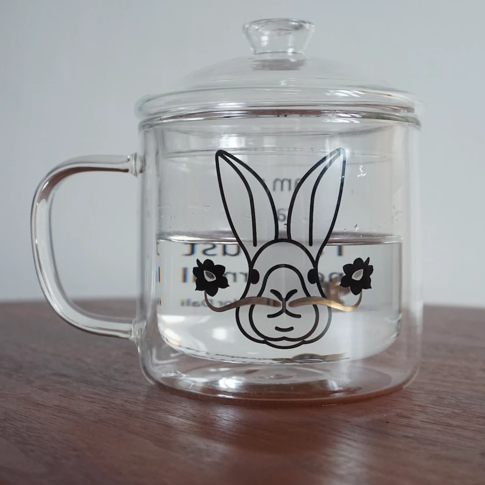 GLUE Rabbit Mug - Dali