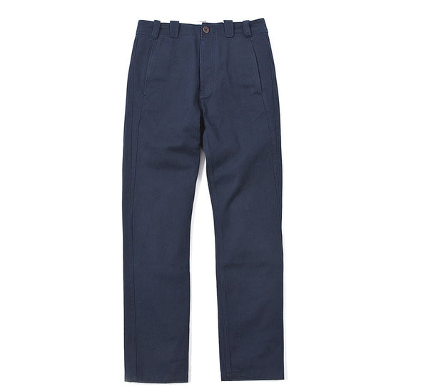 Made By Scrub - Trousers (Blue Cotton Twisted Fabric)