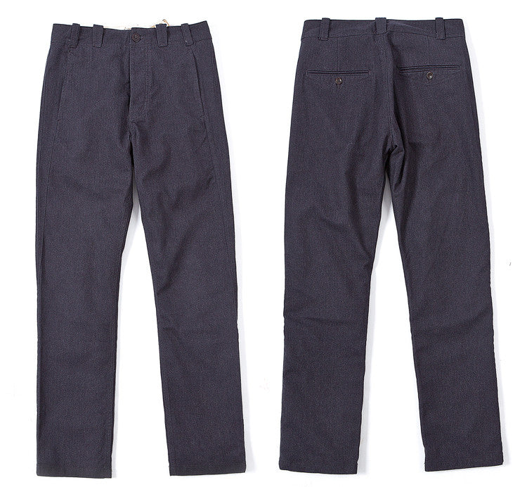 Made By Scrub - Trousers (Grey Twill Fabric)